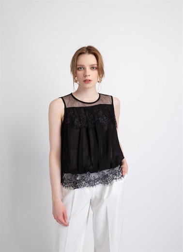 Xtsy Bluz Siyah